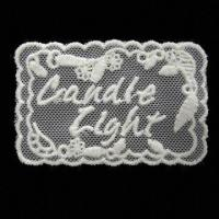 Embroidery Badge, Tape the Mesh Badge, Die-cut Circle The Round Manufactures