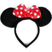 Disney Headband Hat - Plush Minnie Mouse Ears Costume Accessory With Bow For Party Manufactures