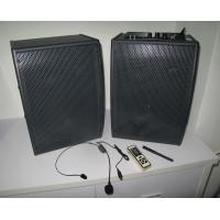Classroom / Home Wireless Stereo Speakers 2.4G Technology With Hand Mircrophone Manufactures