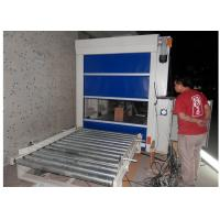 PLC Control Air Shower Tunnel With Conveyor Roller Line / Auto Slide Door Manufactures