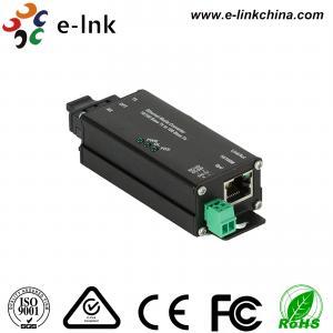 Microtype Hardened Industrial Ethernet Media Converter SC / ST Optical Port Manufactures