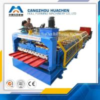 Building Material Iron Sheet Roof Corrugated Roll Forming Machine For Exhibition Halls Manufactures