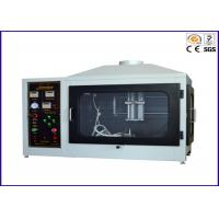 Single Flame Source Ignitability Test , Flammability Test Apparatus EN ISO 11925-2 Manufactures