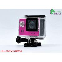 "170 Degree Sports Cam Hd Action Camera H9 WiFi With 2.0"" Screen SPCA 6350 Manufactures"