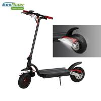 EcoRider Double Battery 10inch Fat Tire Dual Motor Foldable Electric Scooter for Adult Manufactures