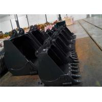 China Standard Narrow Excavator Backhoe Buckets Attachments on sale