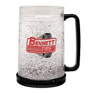 PMB-450L plastic beer mug PS material beer mug custom LOGO ICE BEER MUG Manufactures