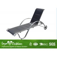 Colorful Folding Beach Chair With Powder Coating Garden Furniture Sun Loungers Manufactures