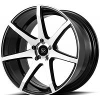 Custom Gloss Black Machined  20inch 1-piece Forged  Rims For Audi RS7 Car Rims Manufactures