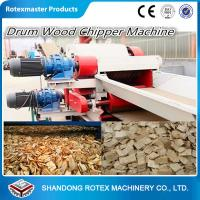 Quality Wood Sawdust Log Machine , Sawdust Wood Grinding Equipment Crusher for sale