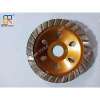 China 80mm/100mm Diamond Grinding Cup Wheel For Marble and Concrete Wet/Dry Grinding on sale