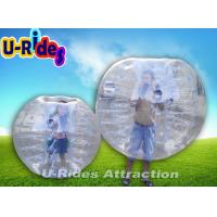 China Kids Customized Red Inflatable Human Ball , Inflatable Pool Zorb Hamster Ball on sale
