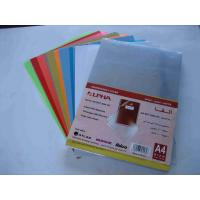 Durable thermal clear pvc plastic binding cover with 125mic to 350mic thickness Manufactures
