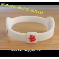 Cheap Custom Silicone Bracelet with Debossed/Embossed/Color Filled/Printed Logo