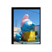 Air Sealed Giant Advertising Balloons Inflatable Smurfs Replica Balloon for sale