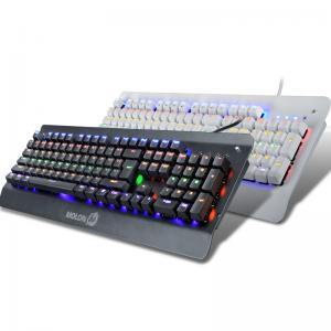 Professional RGB Mechanical LED Backlit Keyboard With Floating Keys Manufactures
