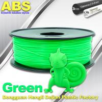 Quality UP 3d printer ABS Filament  1.75 / 3.0 mm ABS 3d filament 43 color for sale