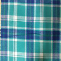 100% Cotton Flannel Yarn Dyed Fabric Skin Friendly For Girls And Women Dress Manufactures