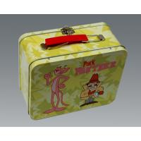 Beautiful Rectangular Tin Box , Kids Lunch Boxes Eco - Friendly Recycled Tinplate Manufactures