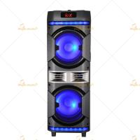 Rechargeable Battery Portable Trolley Speakers with Equalizer / Amplifier Manufactures