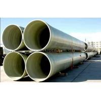 China Fiberglass reinforced plastic FRP Profiles , Industrial FRP tube / pipe on sale