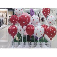 Decorative Standing Fiberglass Balloons With Spot Pattern For Shopping Center Manufactures