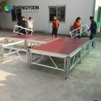 Outdoor Mobile Aluminum PortableInnovative New Metal Truss Display Portable Stage Portable Stair Steel Layer Stage Manufactures