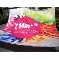 Eco-Friendly Colored Fabric Banners Printing Custom Size For Flag Advertising Banner Manufactures