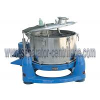 Quality Manual Top Discharge Solid Bowl Basket Centrifuge for Algae Concentration for sale