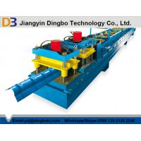 Buy cheap 0.8 - 1.2mm Aluminium Steel Ridge Cap Roll Forming Machine With 10 - 15 m/min Working Speed from wholesalers