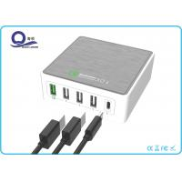 5 Ports 40W Multiple USB Type Charger Qualcomm Quick Charger 3.0 for Fast Charge Manufactures