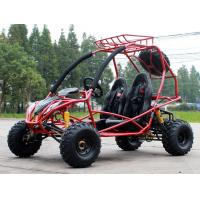 Head Track Air Cooled Adult Double Seat Go Kart 200cc With Disc Brake Manufactures