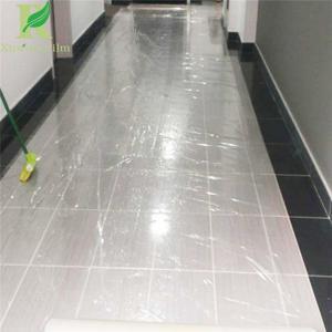 50 Micro  Customized Color Ceramic Floor Tiles Protective Film Manufactures
