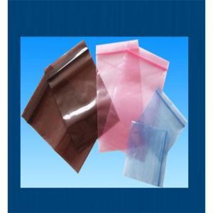 China Anti static Zip lock Bags on sale