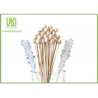 Multi - Colored Wooden Lollipop Sticks Candy Bars Without Splinters No Chemicals Manufactures