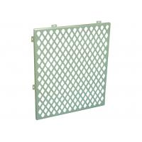 Customized Hollow Perforated Aluminum Panels Internal Cladding Panels Anti - Shock Manufactures