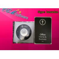 China Online Active Microsoft Office Home And Business 2019 H & B Retail Key Card PKC DVD Box on sale