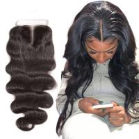 Natural Baby Hair 4X4 Lace Top Closure Hair Extensions 18 Inch OEM for sale