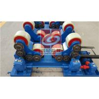 5T Pipe Welding Rotator with PU Rollers and Siemens Motor , Wireless type Remote Control Box Manufactures