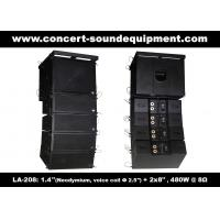 """480W Compact Double 8"""" Line Array Speaker For Installation , Church , Conference, Nightclub Manufactures"""