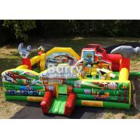 China Fun Multiplay Little Builders Construction Toddler Bouncer Playground on sale