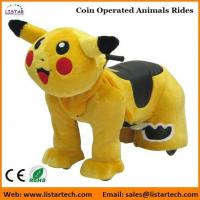 Pokemon Coin Operated Battery Animals Electric Ride on Motorized Animals for mall Manufactures