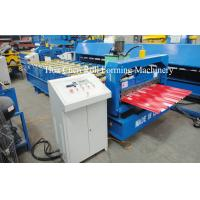 Automatic Station Power 4kw Standard Roof Tile Roll Forming Machine With CE Manufactures