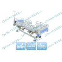 Center Control Lock Electric Hospital Bed for Clinic , ICU Room , General Ward Manufactures