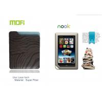Stylish Tablet Personalized Super Fiber Protective Leather Nook Case With Laser Logo Manufactures