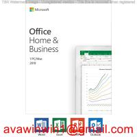 Microsoft Office 2019 Home And Business / Office 2019 Home Business Retail Box Disc Manufactures