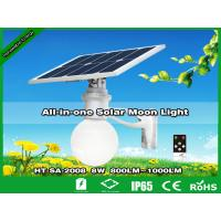 Buy cheap 8W All-in-one Solar Parking Lot Light | Lampes solaires de jardin | farolas from wholesalers