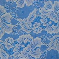 China Non-elastic Cotton Lace Fabric in Plain-dyed, Available in Various Styles and Materials on sale