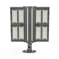AC 100-277V Led Flood Lights Outdoor High Power 800w Narrow / Wide Beam Angle Manufactures
