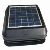 Solar Attic Exhaust Fan with 17.28V Maximum Power Voltage Manufactures